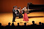 Konzert am 3.4.2010 in Yokohama mit Michael Zuber, violine, Kaoru Kaneko, Klavier